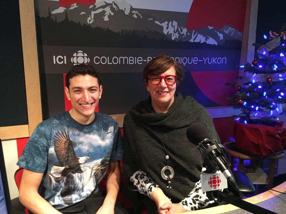 CBC RADIO with Monique Polloni -
