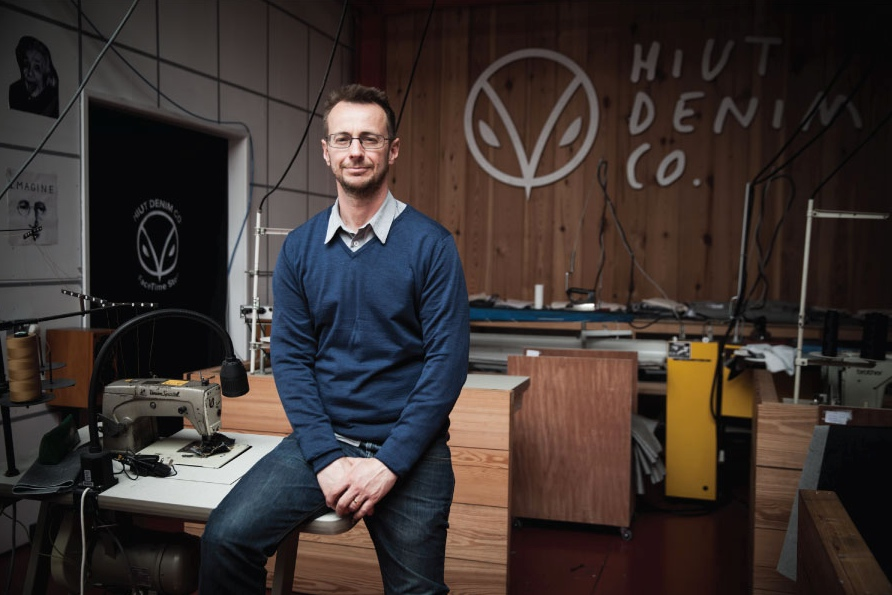 <b>David Hieatt</b><br>Co-Founder of Hiut Denim