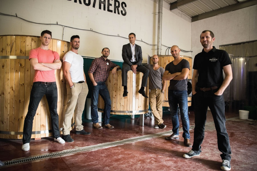 <b>7 Brothers</b><br>Co-Founders of 7 Brothers Brewery