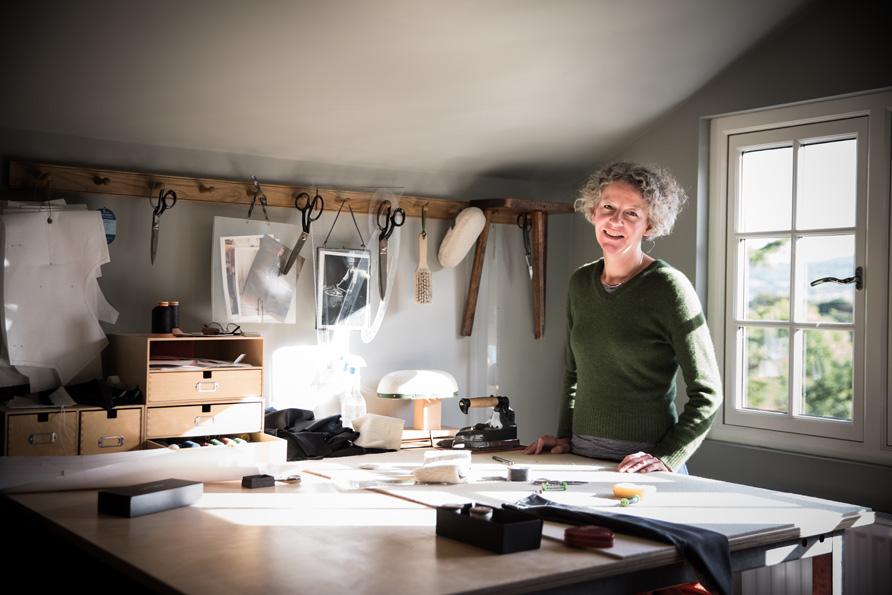 <b>Brita Hirsch</b><br>Owner Hirsch Tailoring