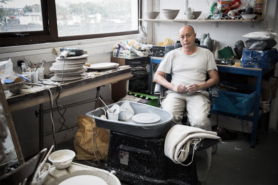 <b>Norman Yap</b><br>Owner of Norman Yap Ceramics