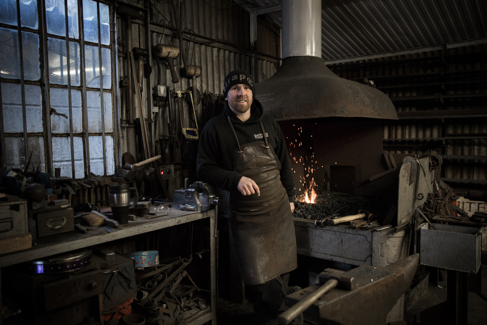 <b>Peter Wilson</b><br>Co-Owner of Bartington Forge