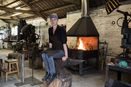 <b>Melissa Cole</b><br>Melissa Cole Artist Blacksmith