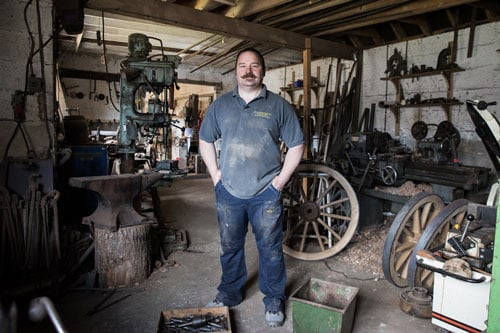 <b>Greg Rowland</b><br>Rowland Wheelwrights