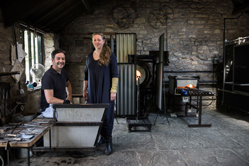 <b>Stephen and Kate</b><br>Gillies & Jones Glass Artists