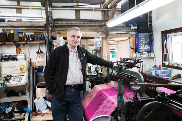 <b>Donald John Mackay</b><br>Luskentyre Harris Tweed Company