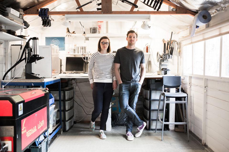 <b>Lucy and Jamie</b><br>Banton Frameworks
