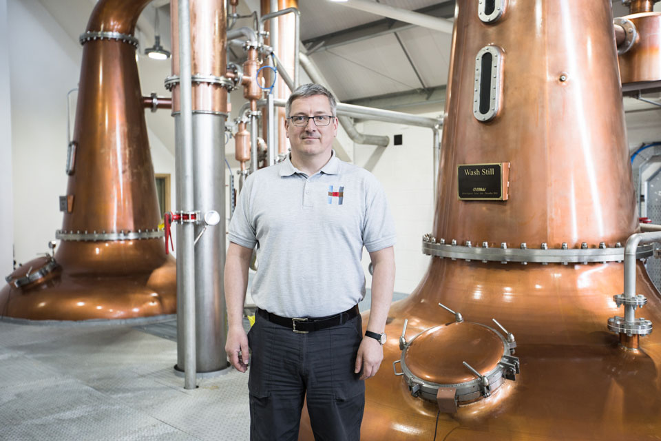 <b>Kenny Maclean</b><br>Harris Distillers
