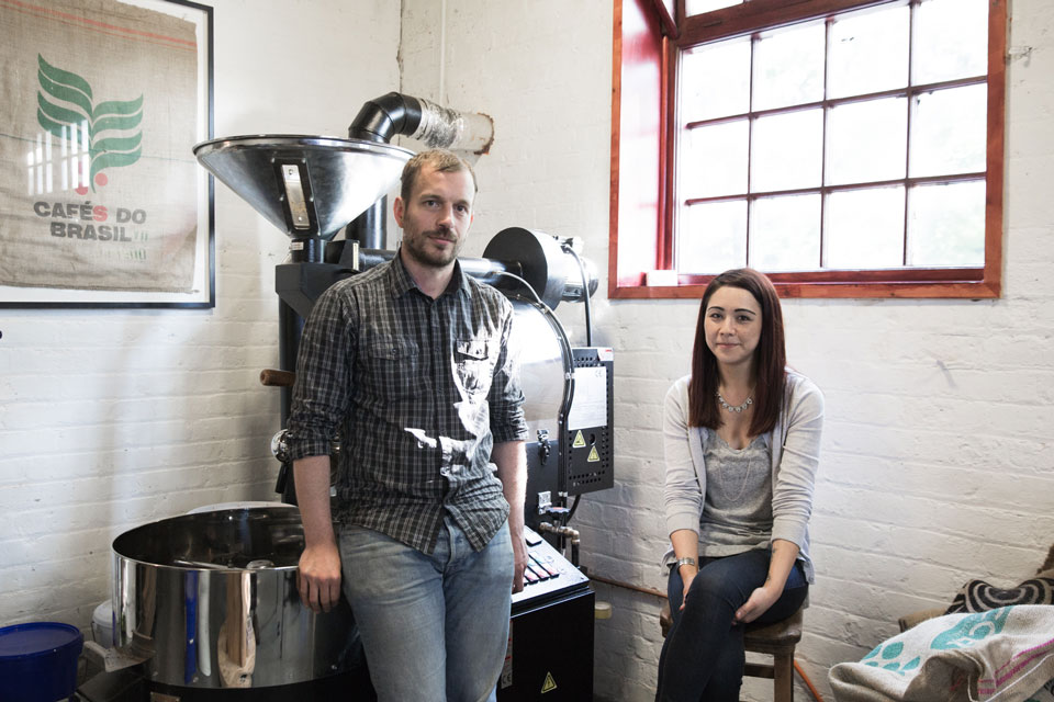 <b>David Beattie & Tracy Lee</b><br>Rounton Coffee Roasters