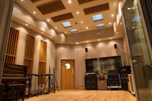 recording studio live room practice and recording room