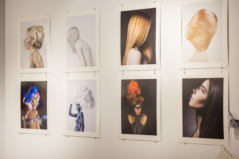 My makeup work in Teodora Stefan's portfolio