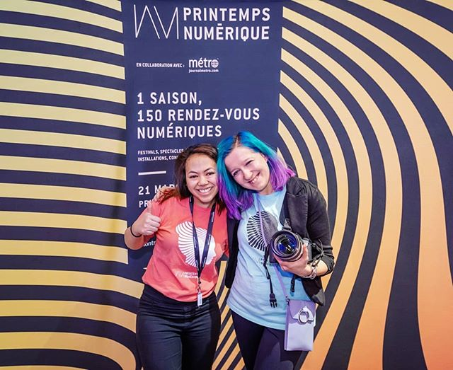 Last week, doing my photo thing at the #intersections event by @pn_mtl 😊 It's been a year since I photographed my first event for Printemps Numérique, and it's such a great collaboration, with a super awesome team 😊. And the event I shot for them last year was quite a special one, with the King and Queen on Belgium attending (ya, my first time photographing royalty 😁) And now that I think about it..soooo much has happened in a year 😁😃... #lovemyjob #photographerlife