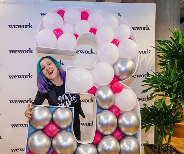 Had a blast at the @wework Montreal 3 Years Anniversary Party last night. #LoveMyJob #JustAnotherNightAtTheOffice . Cheers to the super cool #weworkmontreal team and the awesome community!! Joining WeWork almost 2 years ago has been such a great decision!!!