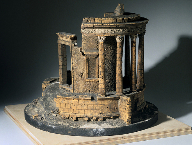 Copied across the world, this influential Roman ruin exists as a model in our collections.