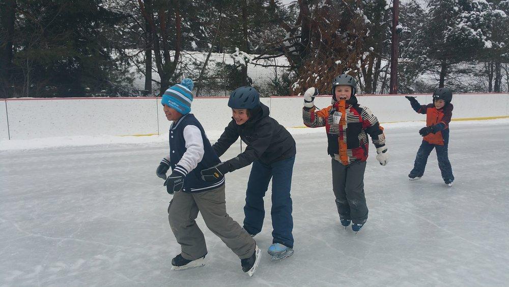 Franconia ice rink
