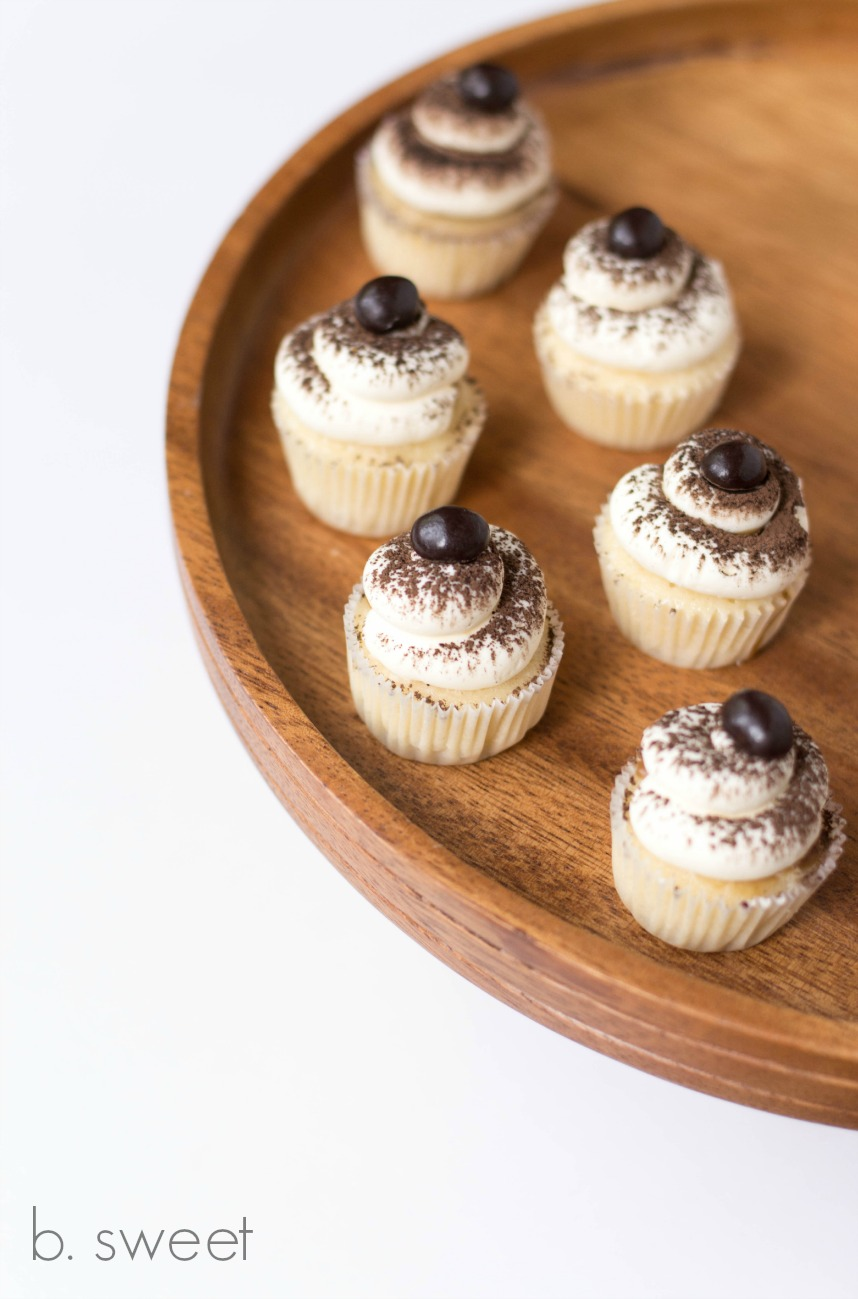 Tiramisu Mini Cupcakes with Espresso Pastry Cream