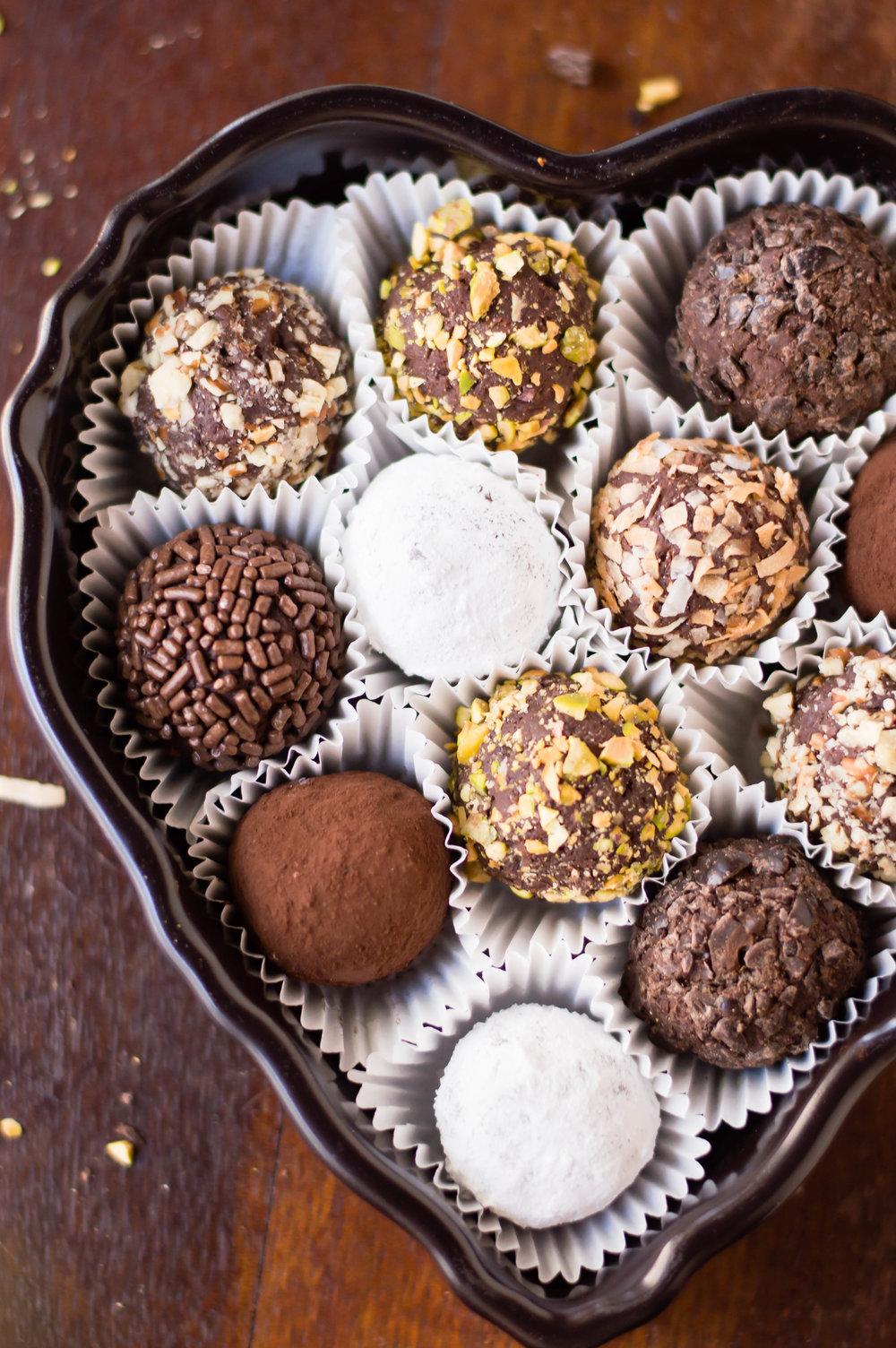 Truffle Brownie Torte - b. sweet