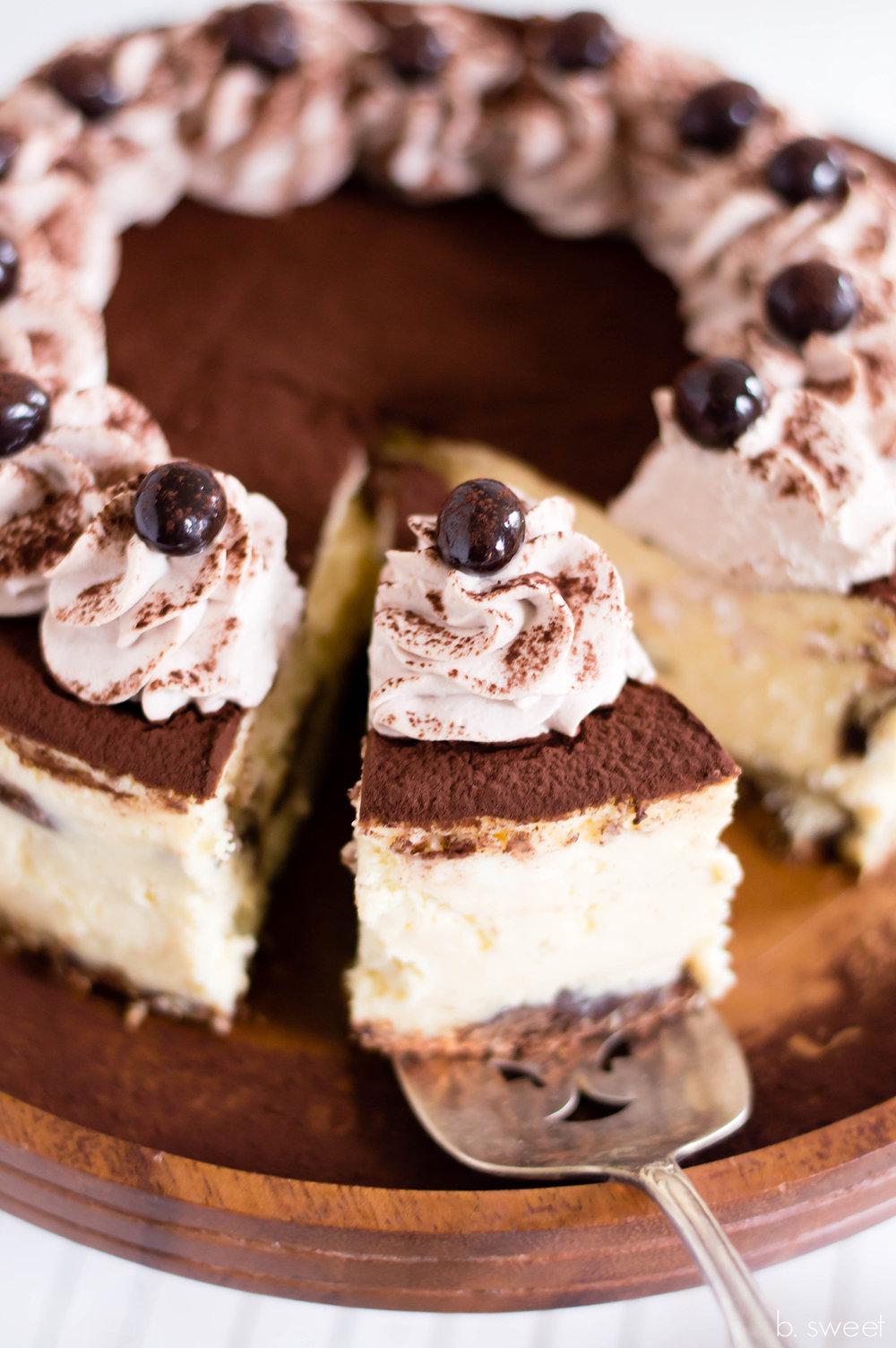 Tiramisu Cheesecake - b. sweet