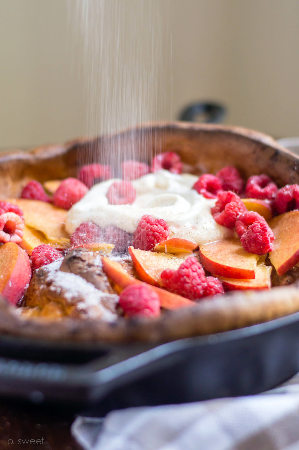 Cinnamon Sugar Dutch Baby Pancake - b. sweet