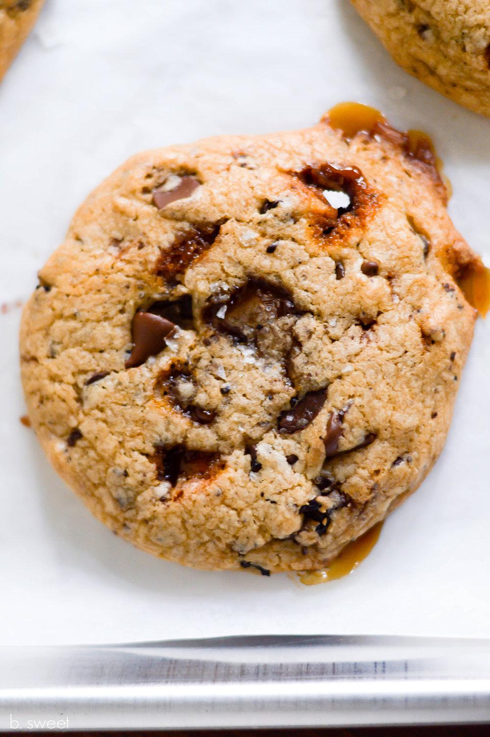 Coffee Toffee Chocolate Chip Cookies - b. sweet