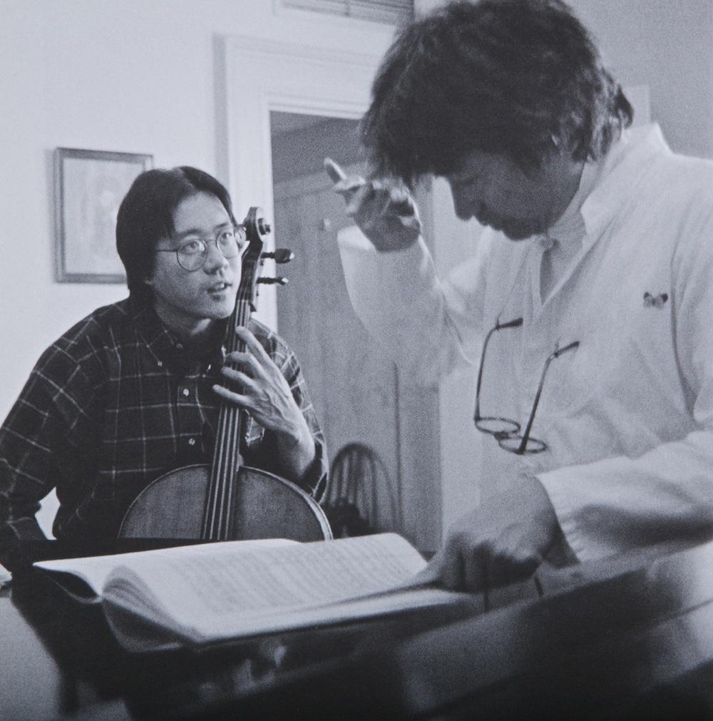 Seiji Ozawa Yo-Yo Ma