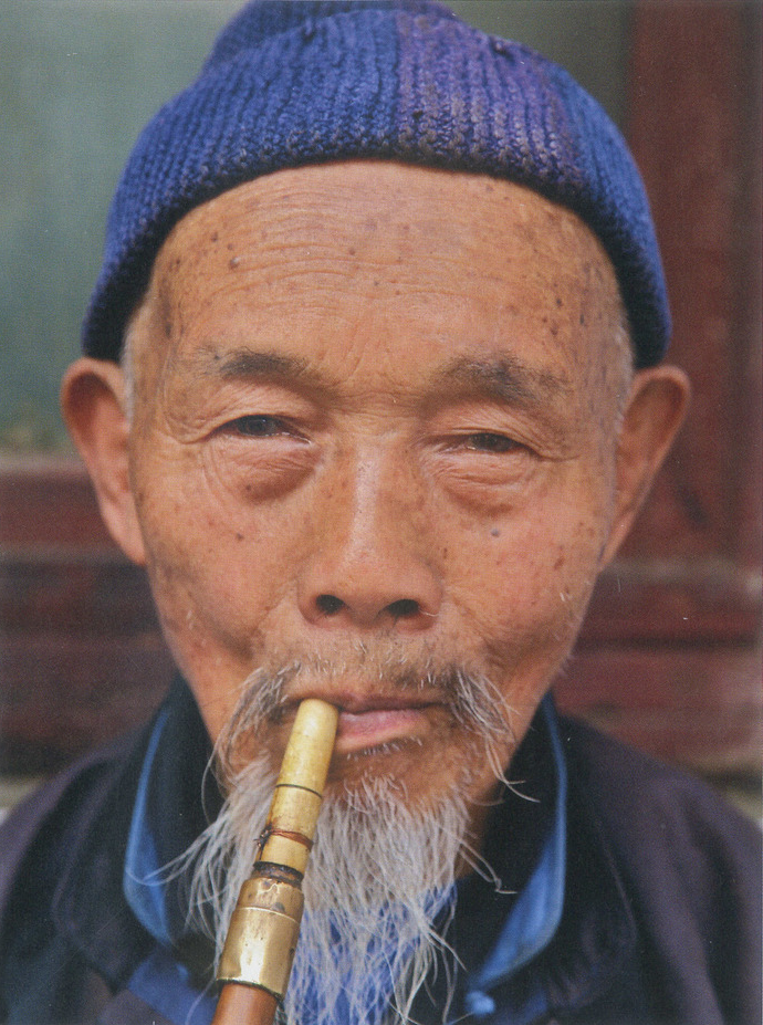 Pipe Smoking Man Portrait Photography