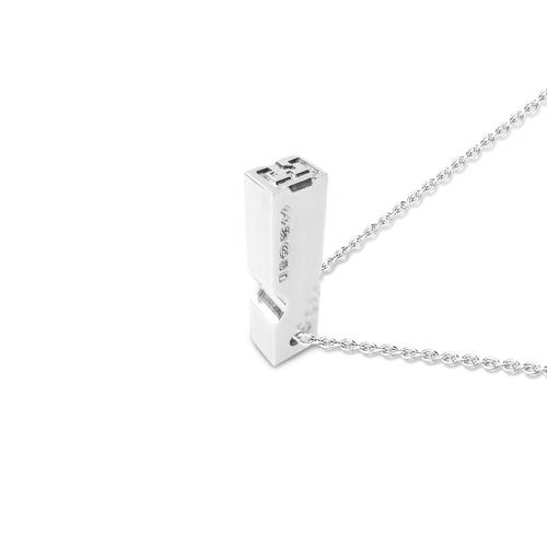 Sterling silver letterpress pendant roderick vere sterling silver letterpress pendant aloadofball Choice Image