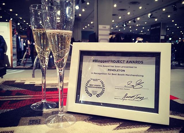 Pendleton / Merchandising Award 2015