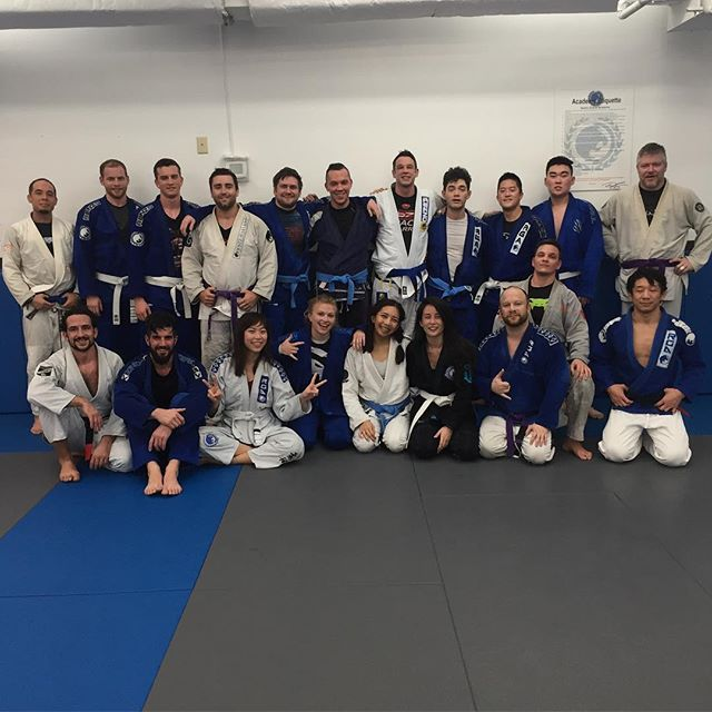 Awesome morning class with Professor Jin! #rga #bjj #fridayjiujitsu #morningjiujitsu