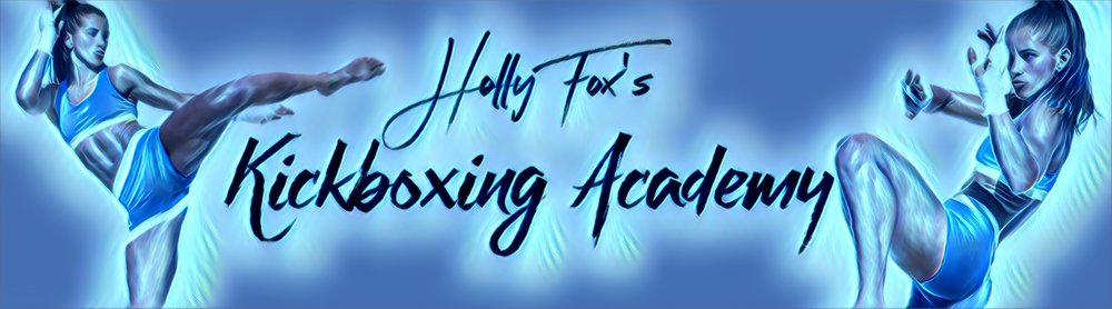 Holly Fox's Kickboxing Banner