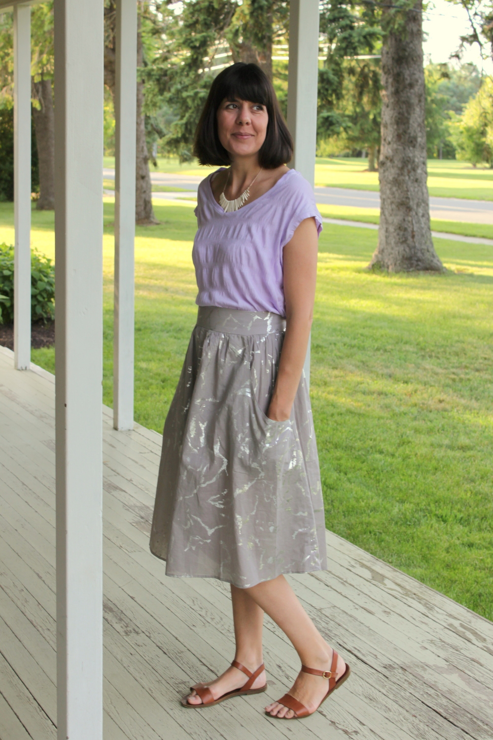 Brumby Skirt and Elise Tee 1