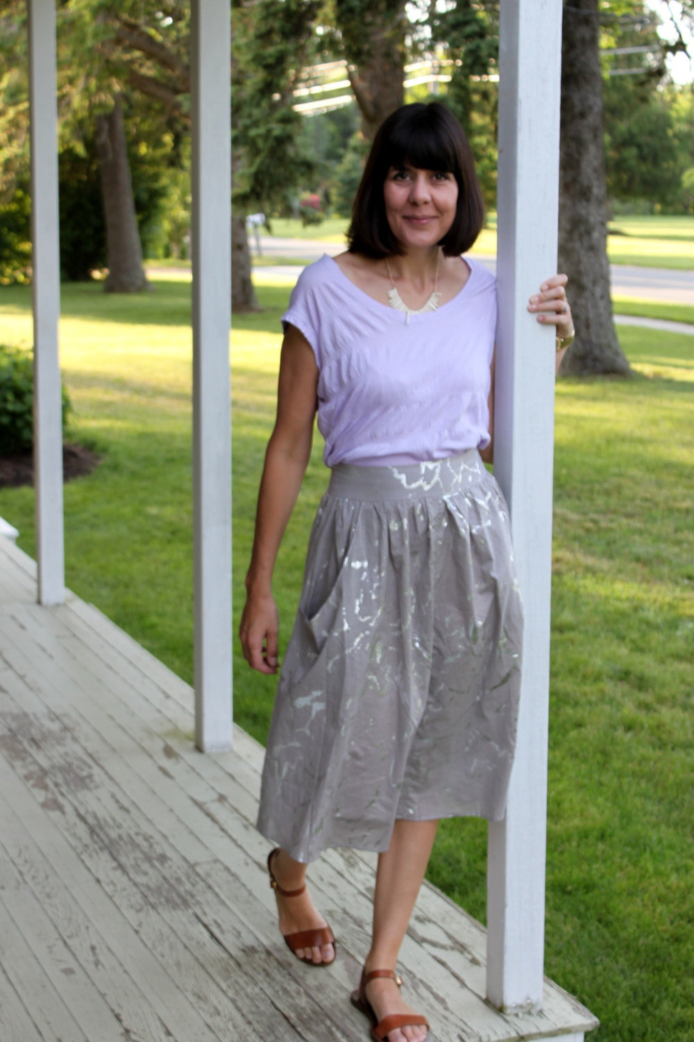 Brumby Skirt and Elise Tee 3