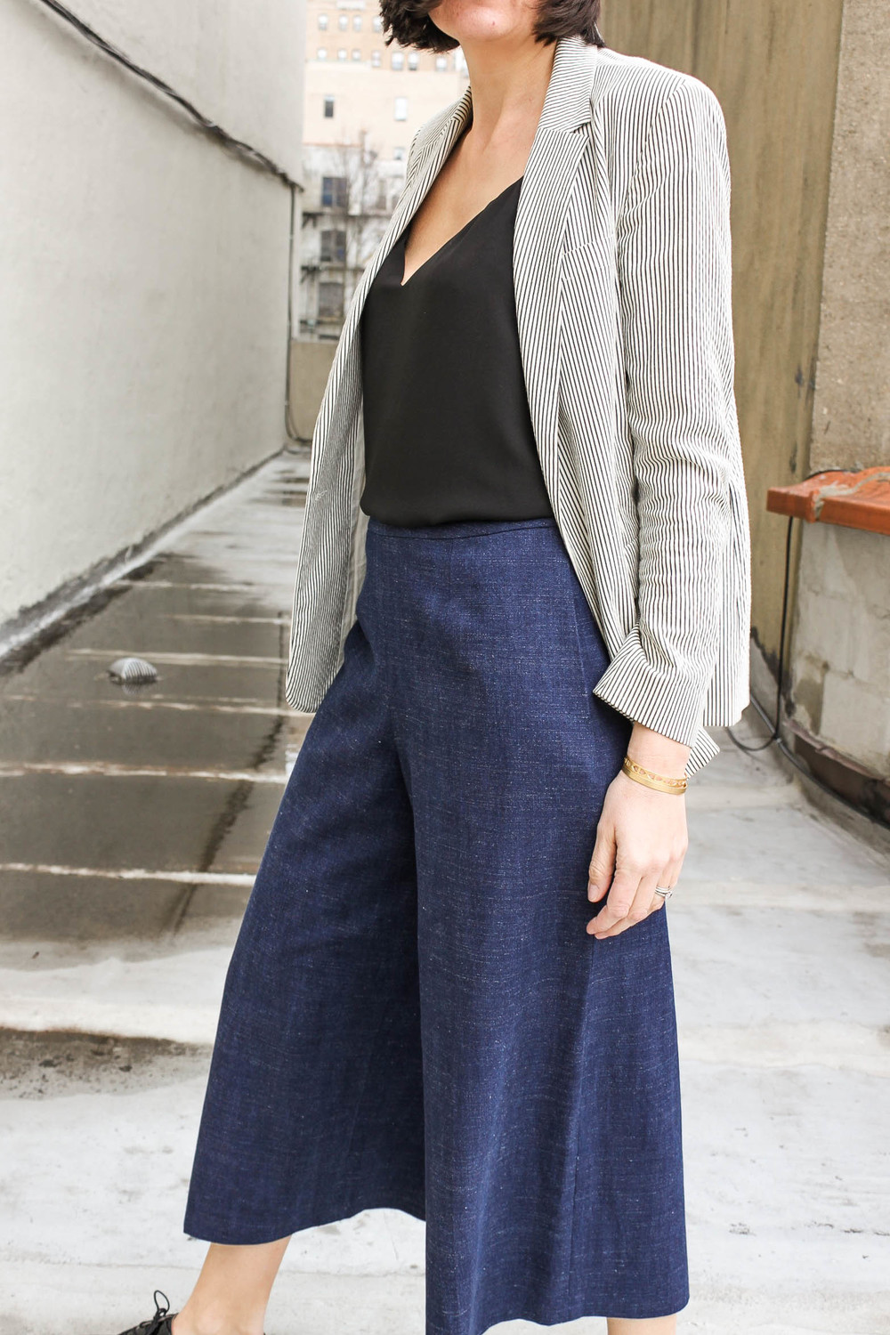 Denim culottes 5