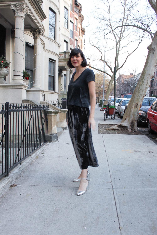 Velvet skirt 5