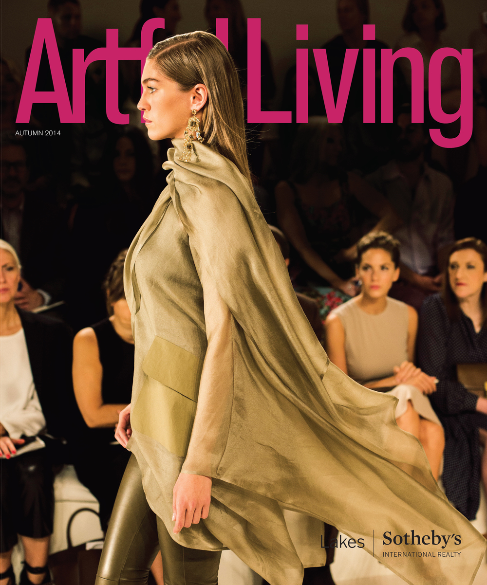 City Throws featured in Artful Living Autumn 2014