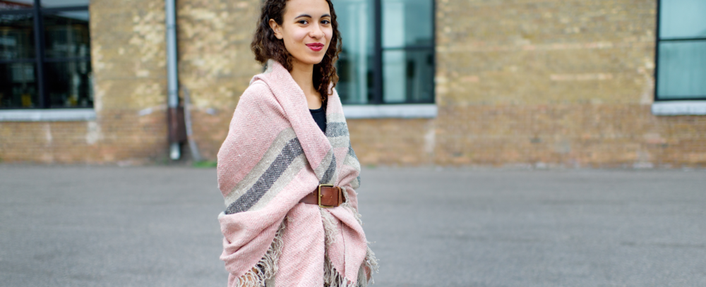 It's a wrap! Our textural weavings do double duty as stylish ponchos, shawls or capes.