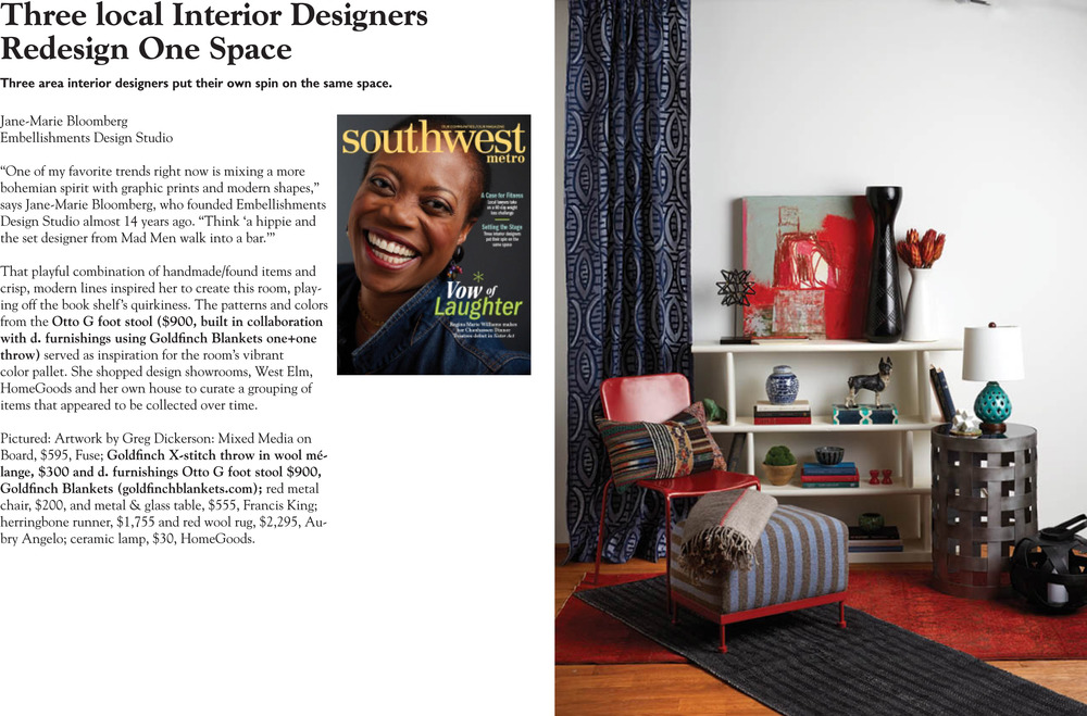 Otto G and X-Stitch Featured in Southwest Metro Magazine November 2015