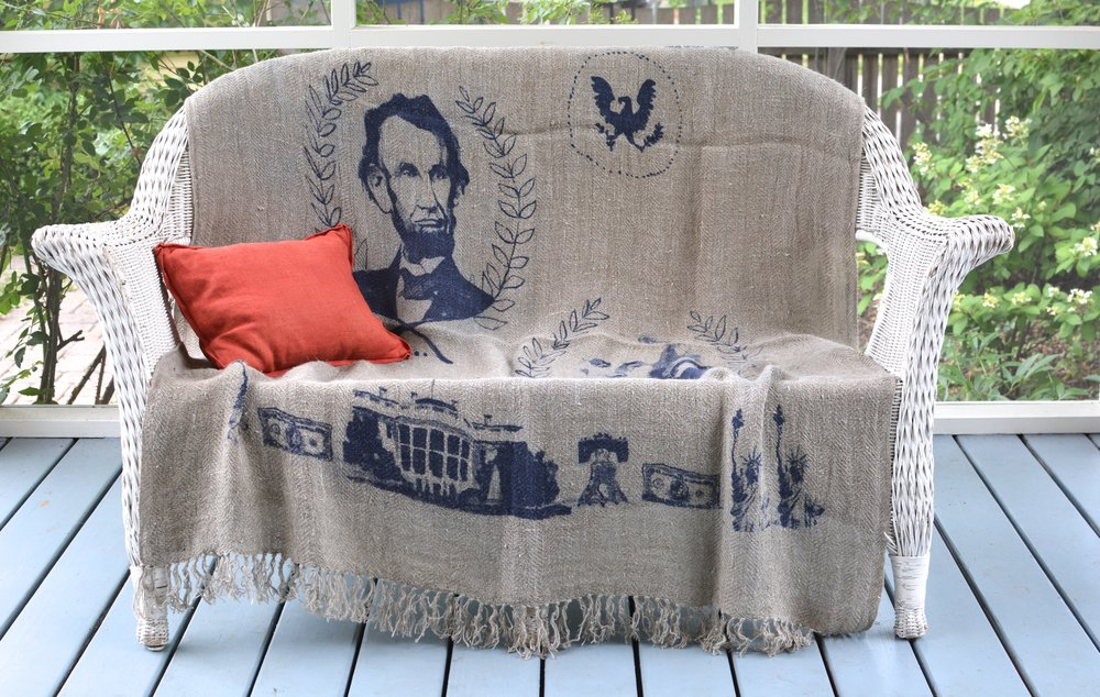 Americana on We the People throw for summer holidays