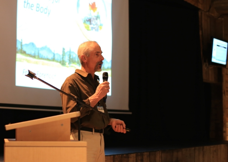 Addressing the InVivo Conference on Planetary Health: April 2018, Canmore, Alberta