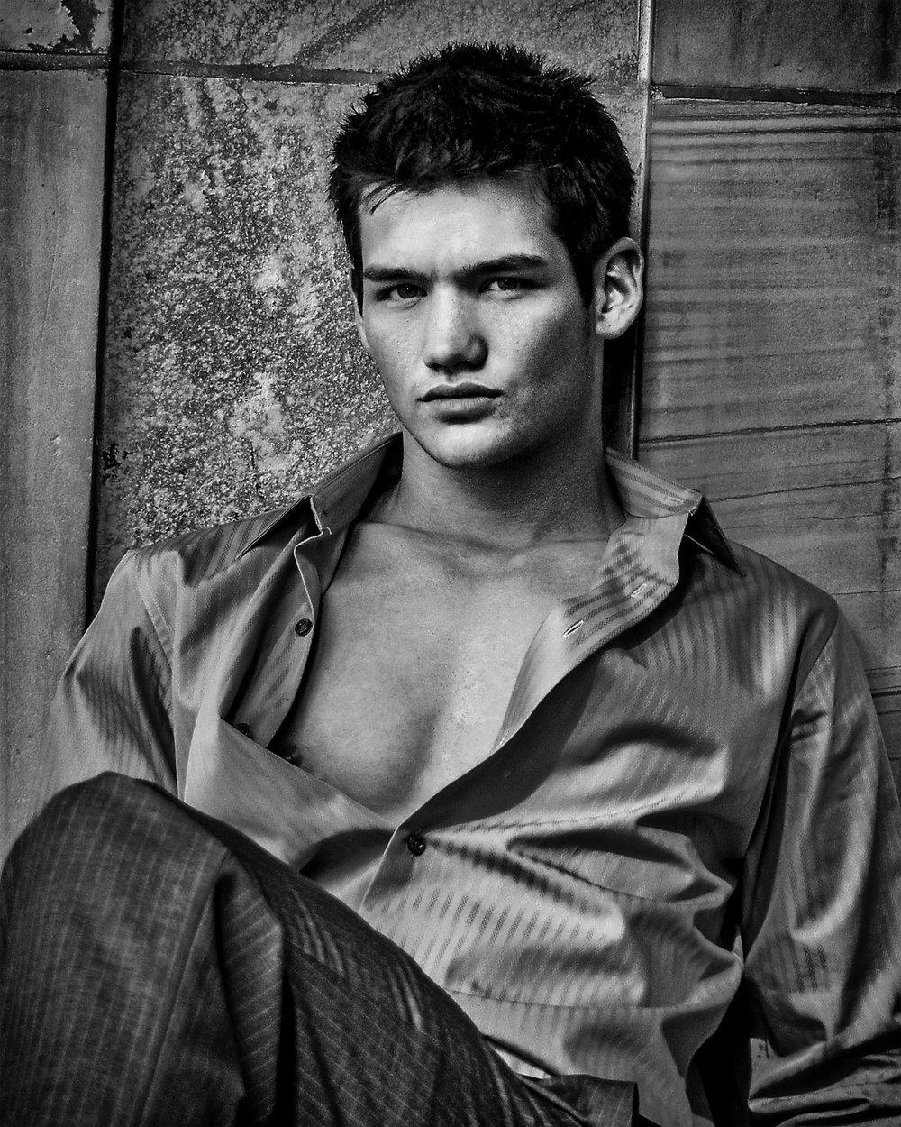 Male fashion portrait