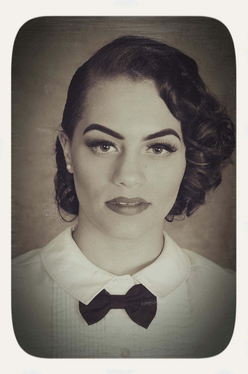 Vintage black and white photo, sepia toned