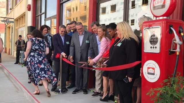 Congratulations to our client & friends @leoevents on their ribbon cutting for their new home in @thememphisedge. The space is fantastic & we are thrilled to watch you grow!