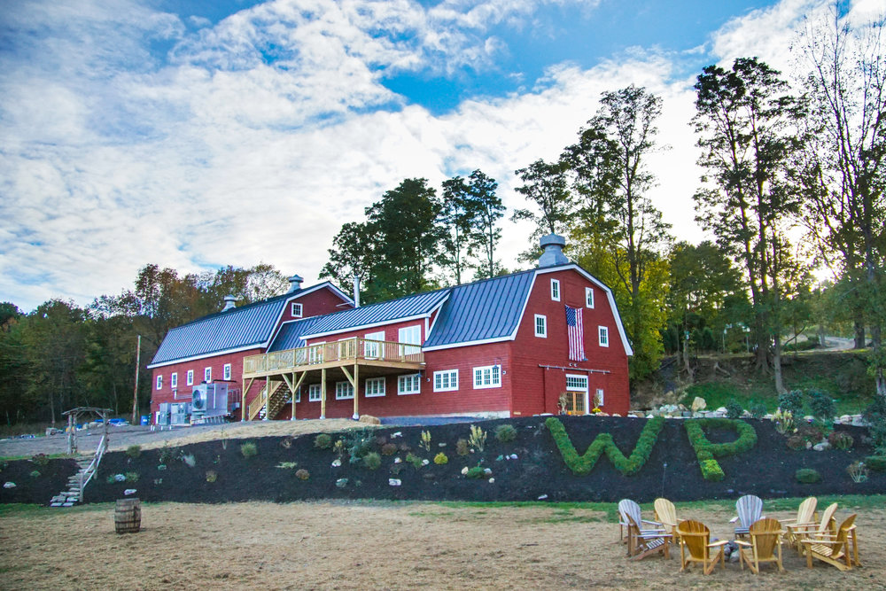 The WhistlePig farm in Vermont