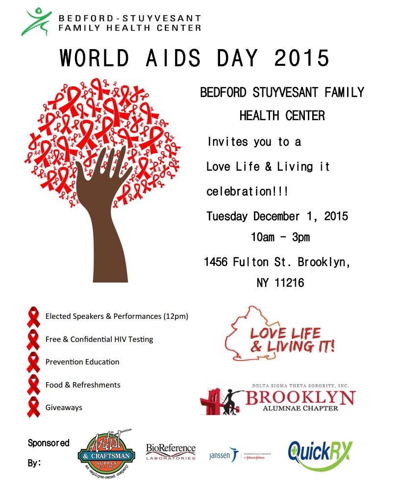 World AIDS Day 2015 - a