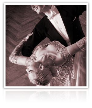 Fox Trot Channel your inner Fred and Ginger with the Fox Trot.  A little glam and a little class will make up your first dance.  Classic songs are best.