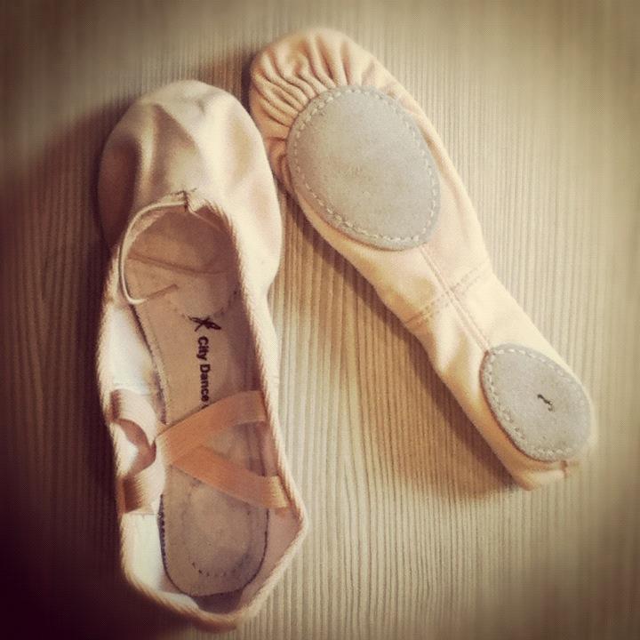 ballet shoes. ballet shoes o