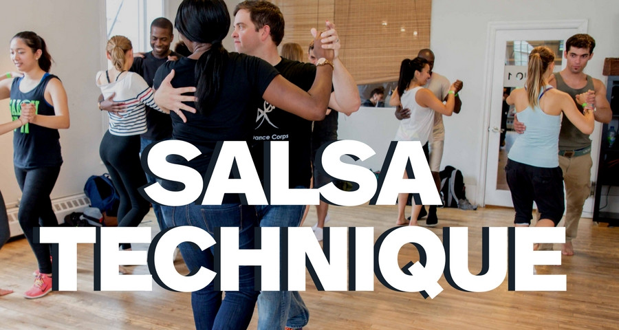 Salsa Technique    Be better at turns, balance, timing and style. These Drop-In style Salsa classes are dedicated to making you dance fabulous, whether you are dancing shines or with a partner.
