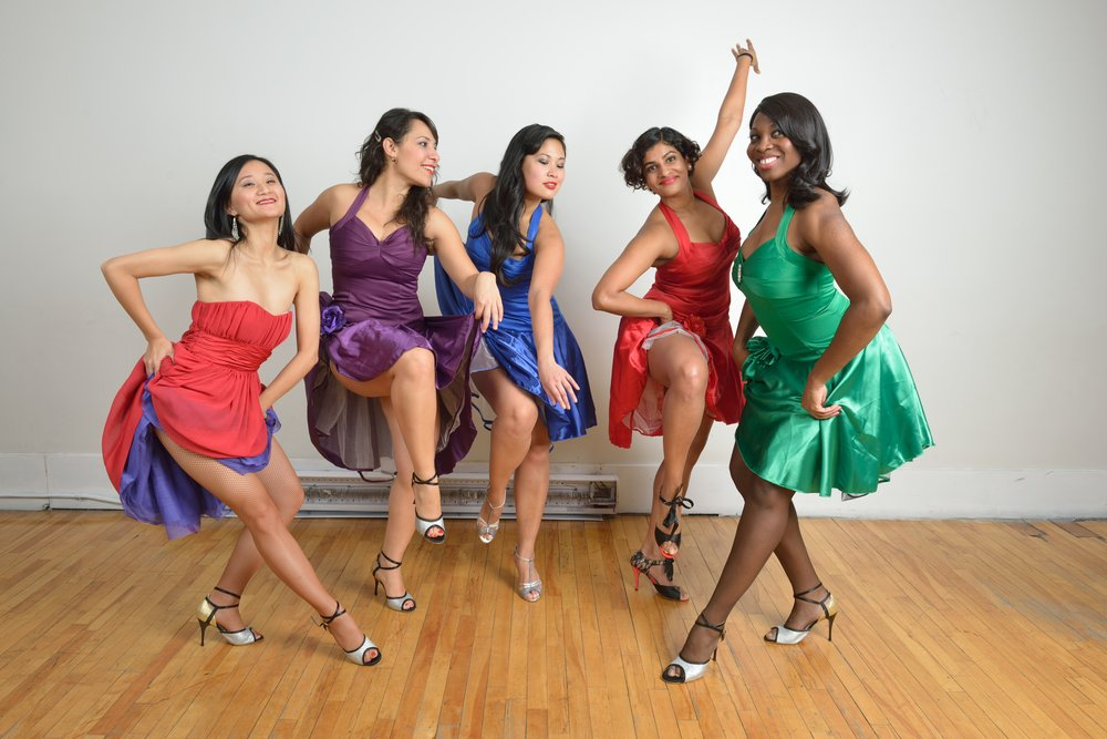 Ladies Salsa Styling Class Toronto City Dance Corps