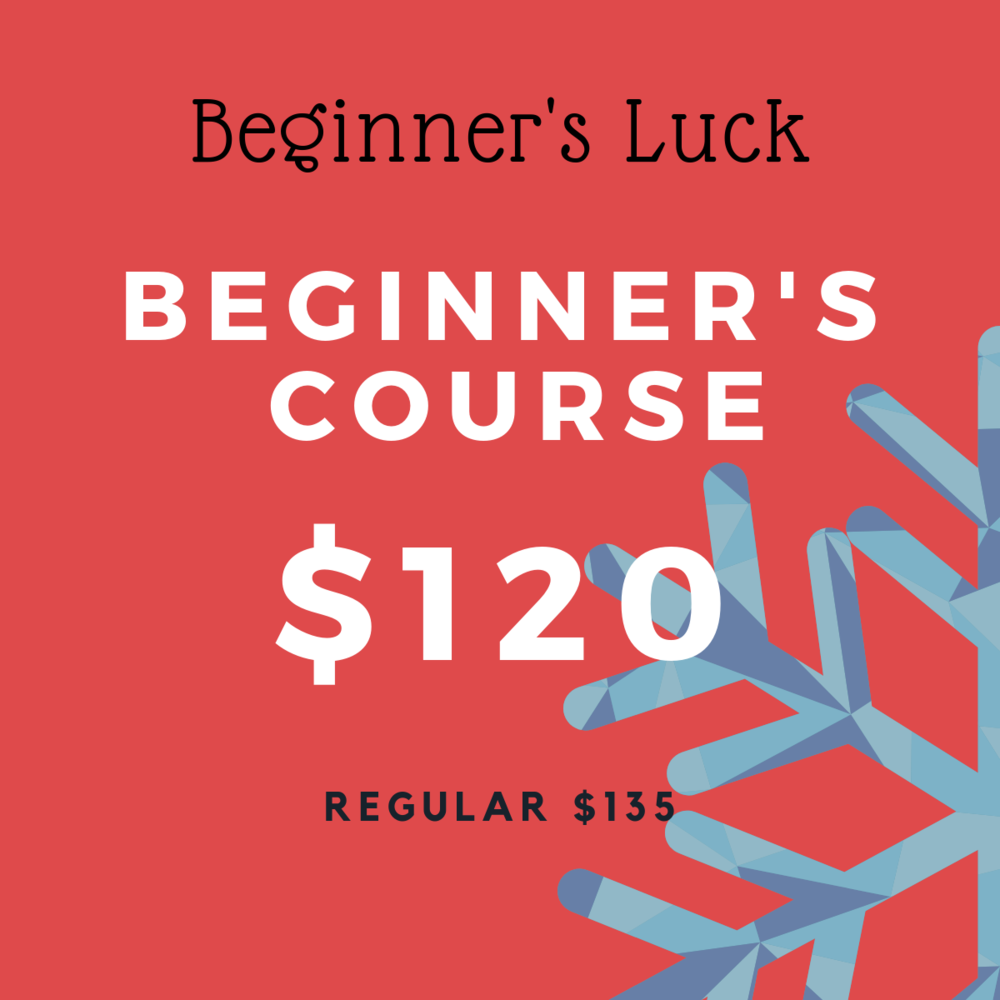 Sign up for any 7-week beginner's course starting in January 2019 and save $15. This deal applies to Ballet, Tap, Modern, Afro Fusion and Acro courses.