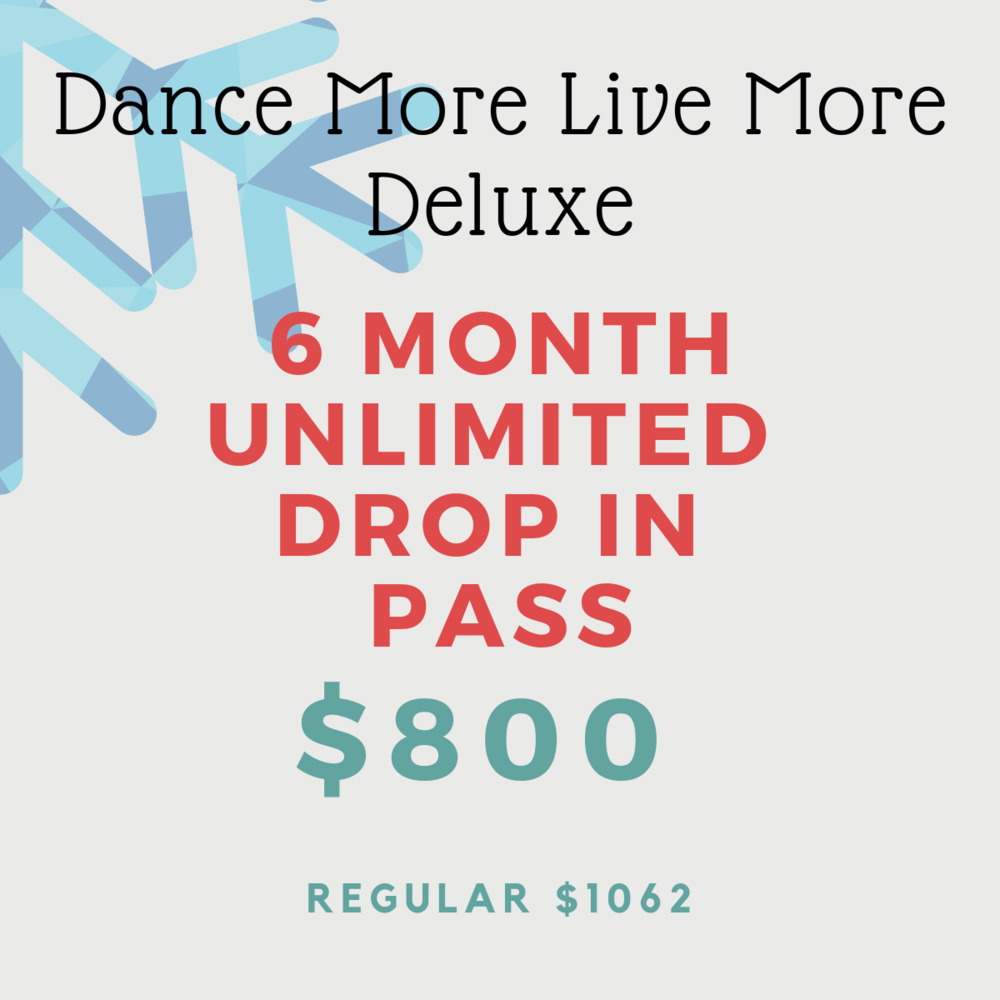 Hold your horses! This is our most discounted deal yet. Get unlimited drop in classes for $133/month. Pass is valid from January 1, 2019 - June 30, 2019. No extensions or refunds. Pass is not transferable.